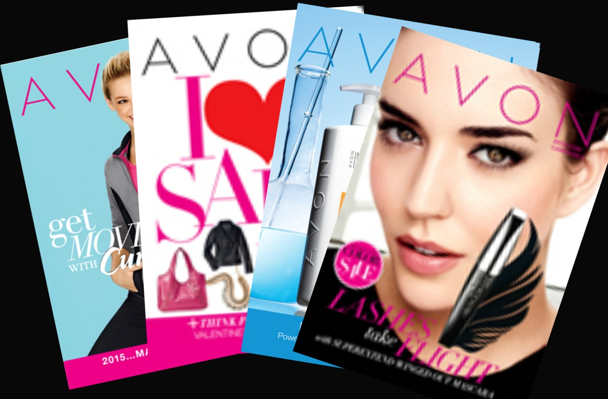 HOW TO SELL AVON WITH BROCHURES