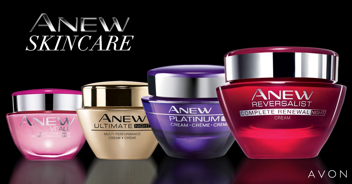 AVON ANEW: TAKING CARE OF YOUR SKIN
