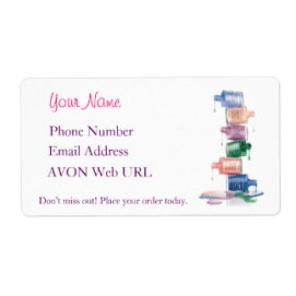 avon-label-example-template
