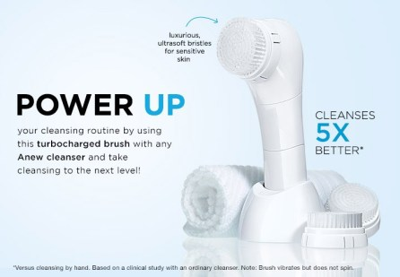 Anew Clean Cleansing Brush 5 X Power Up