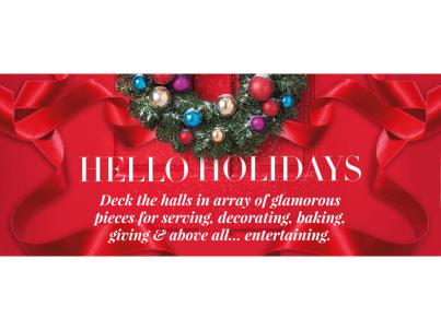 Avon Living Hello Holidays