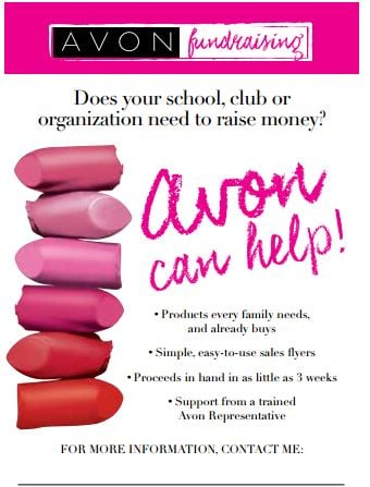 Avon Fundraisers – Journey Of An Avon Mom