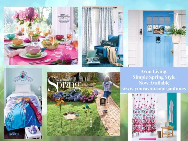 Avon Living Simple Spring Style