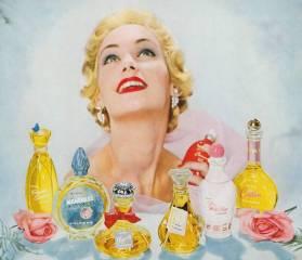 avon 1950s fragrance ad
