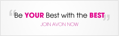 Be your best with the best join avon now banner