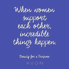 when women support each other