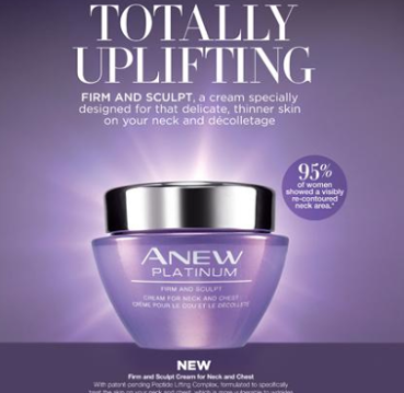 Anew Platinum Firm & Sculpt Neck & Chest Cream