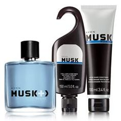 musk + marine 3 piece set
