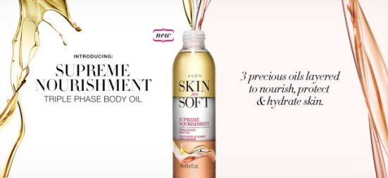 Skin So Soft Supreme Nourishment Triple Phase Oil