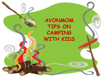 TITLE IMAGE- AvonMom Tips on Camping with Kids