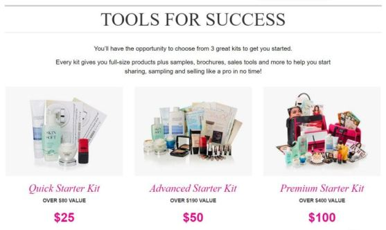 Tools for Success Avon Starter Kits