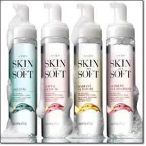 Skin So Soft Oil Infused Foaming Body Wash