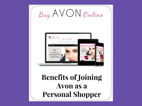 TITLE IMAGE Benefits of Joining Avon as a Personal Shopper