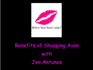 TITLE IMAGE Benefits of Shopping Avon with Jen Antunes