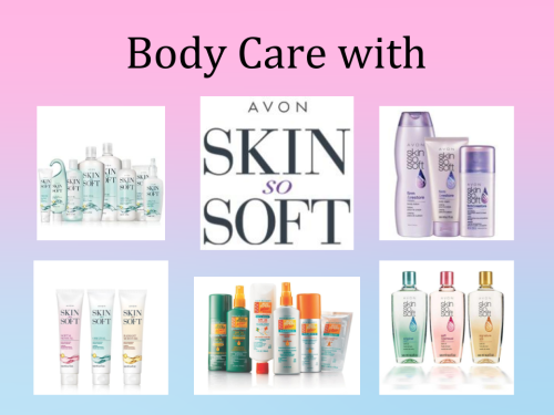 TITLE IMAGE-Body Care with Skin So Soft