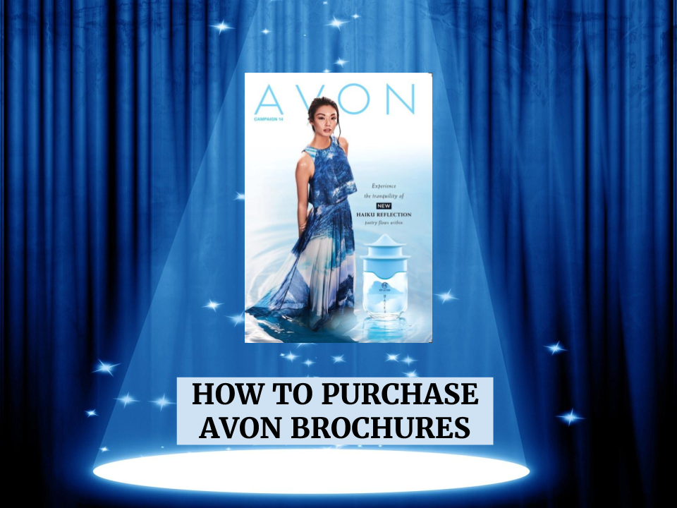 HOW TO PURCHASE AVON BROCHURES