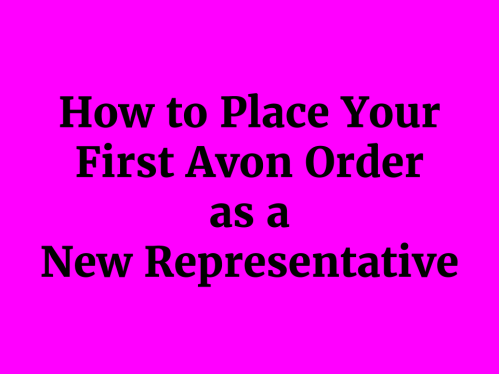 How to Place First Order Title Image