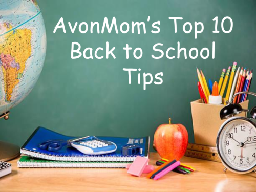 Title Image Top 10 Back to School Tips