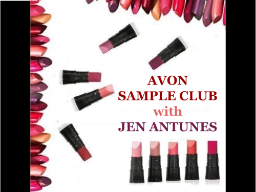 Title Image- Avon Sample Club with Jen Antunes