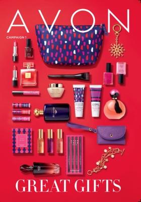 Campaign 1 Avon Brochure