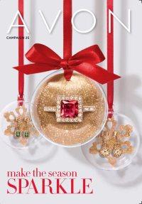 Campaign 25 Avon Brochure