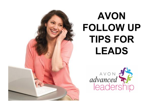 Avon Leadership Tips_ Lead Follow Up Tips
