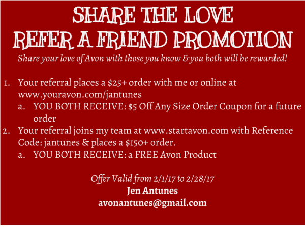 Post Share the Love Referral February