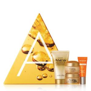 Avon Campaign 14 The A Box Golden Glow Collection