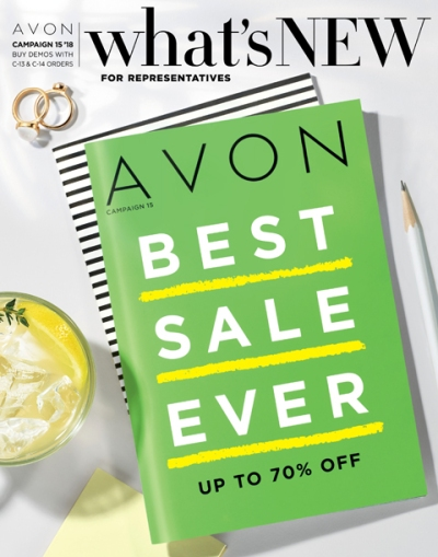 Avon What's New Campaign 15 2018
