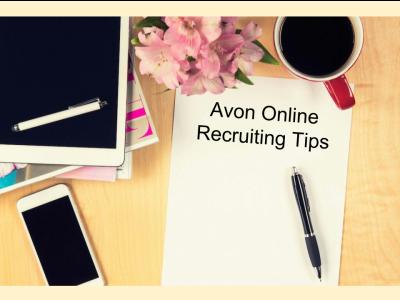 Avon Online Recruiting Tips