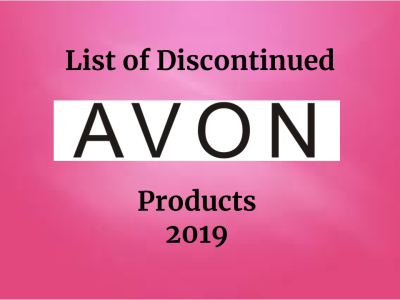 TITLE IMAGE_ 2019 List of Discontinued Avon Products