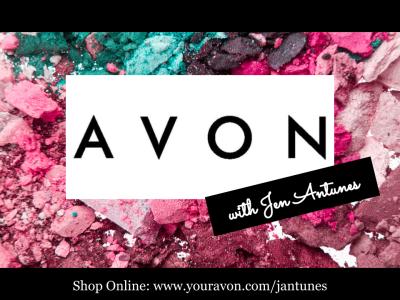 Avon with Jen Antunes Logo