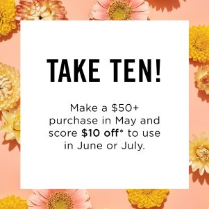 Avon $50 Online Order Special Offer May 2019
